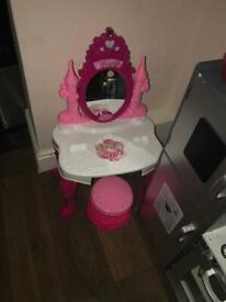 Used princess make up mirror toy