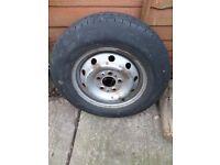 """Mercedes Sprinter Spare 16"""" Steel Wheel"""