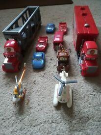 Job Lot 10 Different Movie Cars