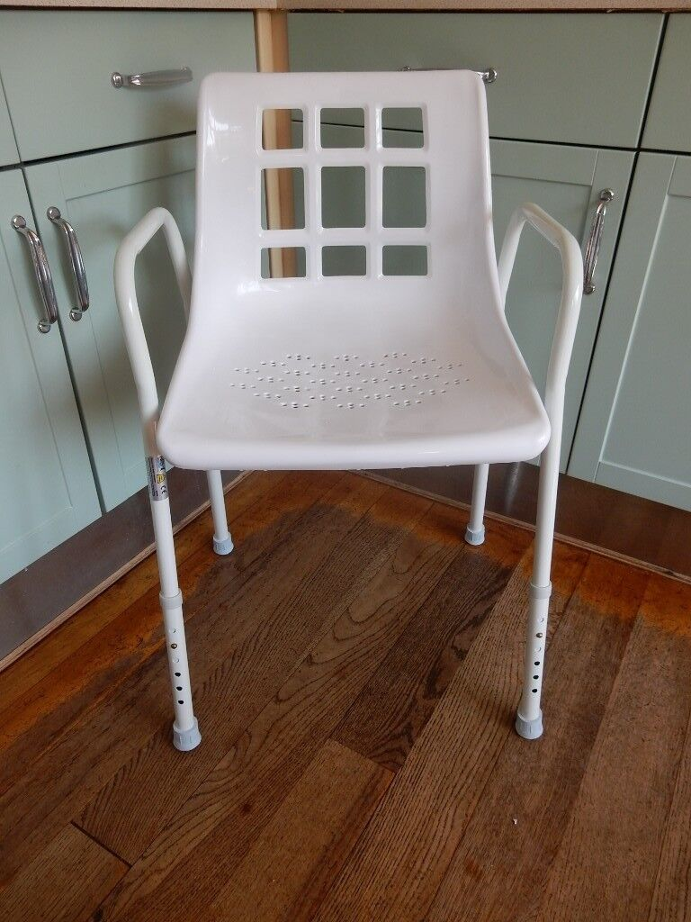FREE DELIVERY NRS Height Adjustable SHOWER CHAIR Mobility | in ...