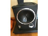 CBR evo sub with amp for quick sale