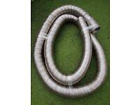 """5"""" (125cm) Flue liner , pipe 6m long or 1m=£10"""