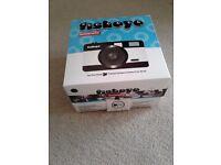 Original boxed LOMOGRAPHY fisheye lens compact camera