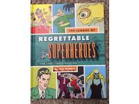 Regrettably superhero book