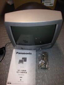 PANASONIC 34cm COLOUR TV (£5) - FREE