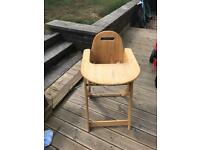 Brother Max Wooden High Chair