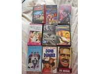 10 VHS Videos