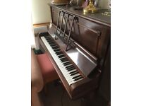 Campbell and Wells upright piano