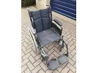 Used Breezy by Quickie foldable wheelchair only £57