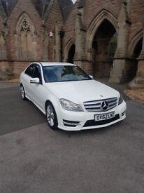2012 62 Mercedes c220 cdi amg sport