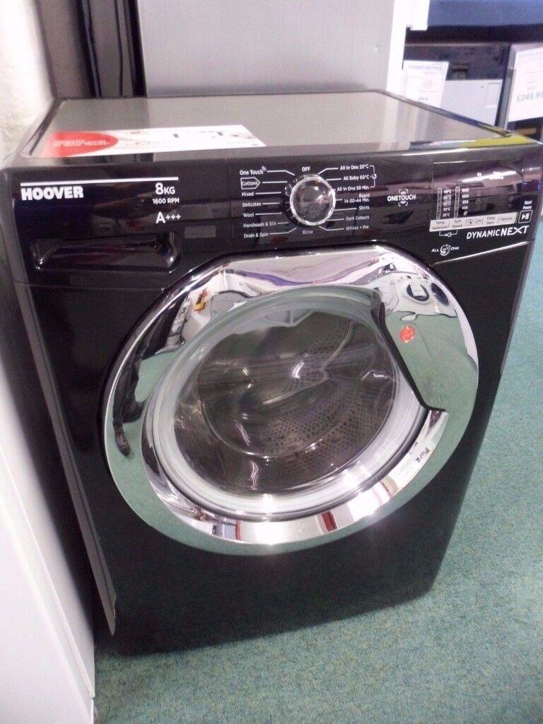 HOOVER Black Washing Machine Washer DXOC68AC3B