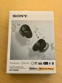 Sony WF-SP800N truly wireless noise canceling bluetooth earbuds
