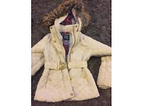 Girls RIVER ISLAND coat age 6