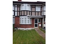 3 bedroom terraced house with front and rear garden.