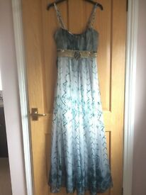 BRAND NEW, originally £50 maxi dress from QUIZ, size 10, beautiful embellishment