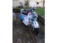 125cc Modena Scooter in great condition