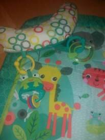 Bright Starts tummy time play mat