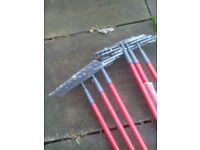 Brand new rakes