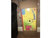 2 in 1 swing brand new in box
