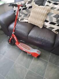 Electric scooter(Razor e100)