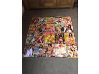 Job lot of 20 bizarre magazines , rare collection