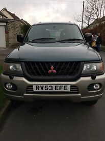 Mitsubishi Shogun Sport - for sale due to new head gasket required