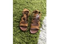 Brand new gladiator sandals size 6