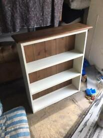 Marks and Spencer's wooden book shelve only £35