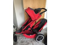 ***SOLD*** Phil an Ted's pram with doubles kit and baby cocoon