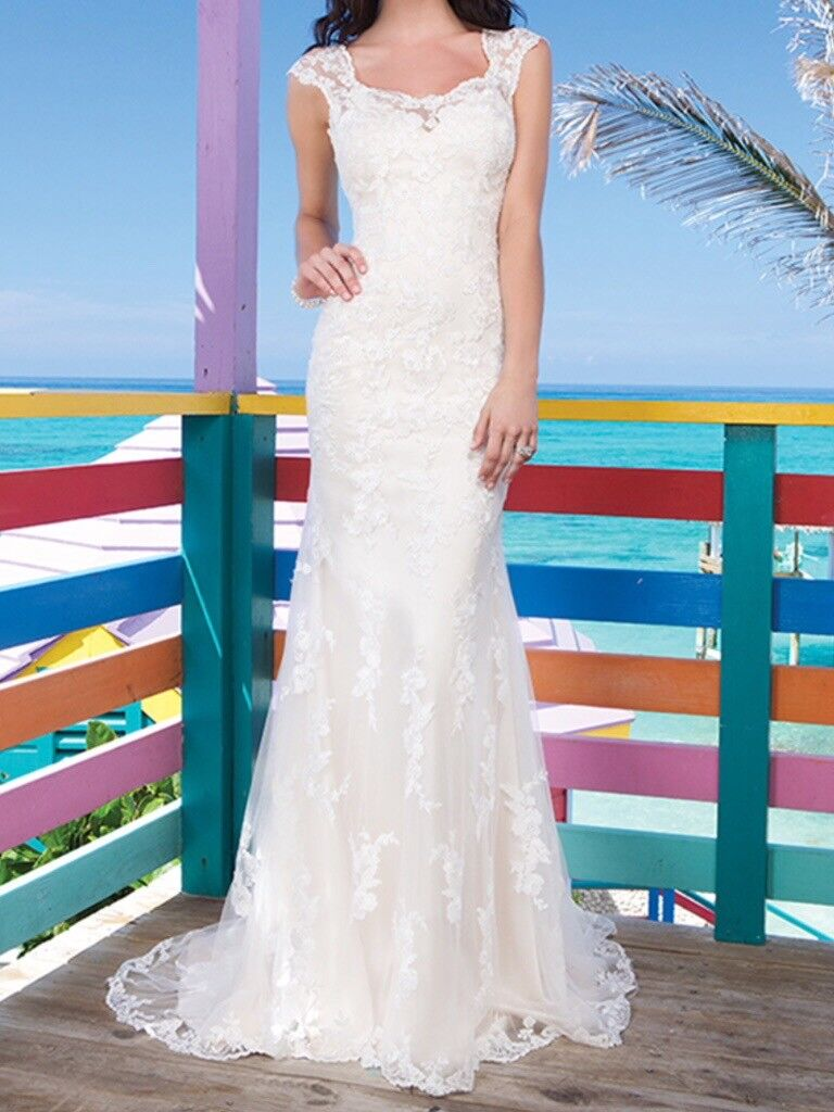 Sincerity lace ivory wedding dress size 8-12. | in Nuneaton ...