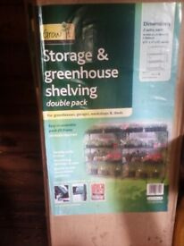 New Greenhouse Shelves - Box of 2 - Still Boxed