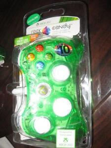 PDP Rock Candy Wired Controller for Microsoft Xbox 360. Like NEW.