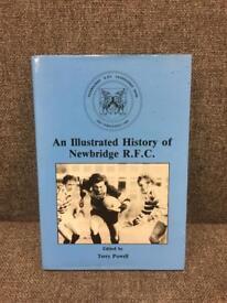 Rare vintage retro Wales Welsh Rugby Newbridge RFC Book excellent condition SDHC