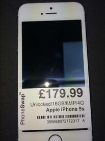 Excellent condition apple iPhone 5s 16gb