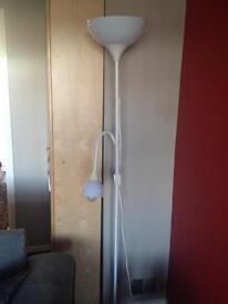Standing lamp white