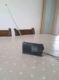 Portable Sony Stereo 12 Bands Radio