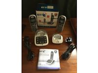 BT 4500 BIG BUTTON Cordless Phone with Answering Machine - Set of 2