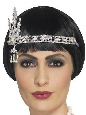 1920'S THEMED FLAPPER JEWEL HEADBAND FANCY DRESS COSTUME BURLESQUE ACCESSORY](1920s Themed Dress)