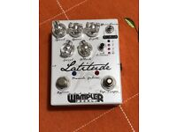 Wampler Latitude Tremolo Deluxe Effects Pedal
