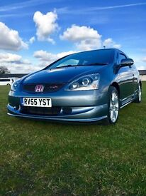 **PREMIER EDITION** Honda Civic Type R EP3 - 43,831 Low Mileage - *Cosmic Grey* FSH