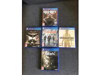Various PS4 games