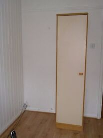 Wardrobe - single unit with hanging space only