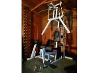 Professional multi gym Body Solid with leg press
