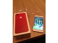BARGAIN PRICE £650 IPHONE 7 PLUS 128gb EE NETWORK SPECIAL EDITION (RED)