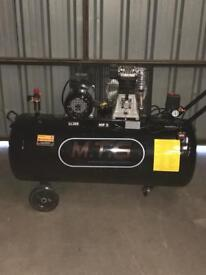 Brand new Air Compressor 200 litre 3hp