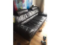 Leather sofa for sale quick