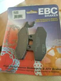EBC brake pads.