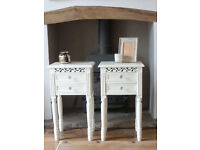 White Belgravia Bedside Tables