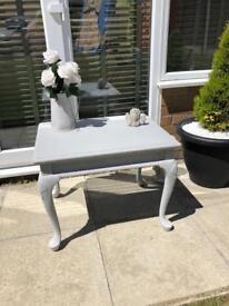 Pretty grey ornate table