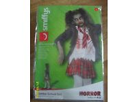 Smiffys Zombie School Girl. Brand New Still in Pack, Size Large, Age 10-12
